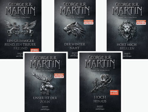 George R. R. Martin Game of Thrones Serie