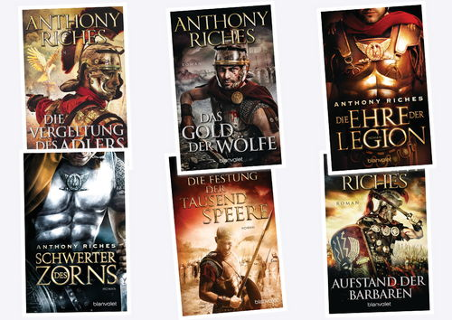 Anthony Riches Imperium Saga